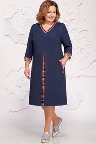 Платье Ivelta plus 1599 синий