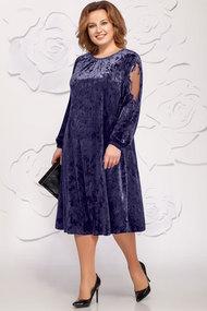 Платье Ivelta plus 1619 синие тона