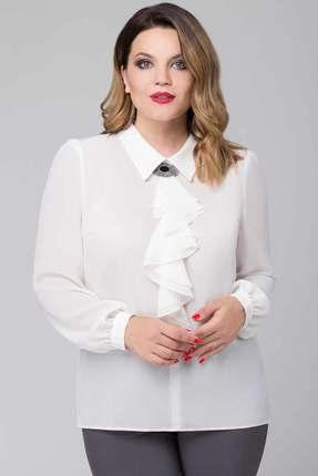 женская блузка белэкспози, молочная