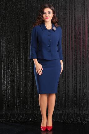 Комплект юбочный Мода-Юрс 2249-1 синий