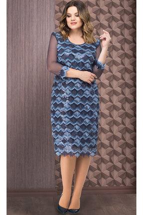 Платье Aira Style 659 синий