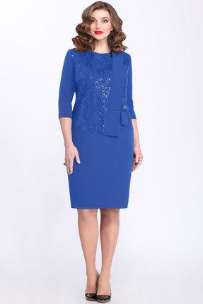Купить Платье Matini 31249 василек, Вечерние платья, 31249, василек, 95% пэ, 5% эластан, Мультисезон