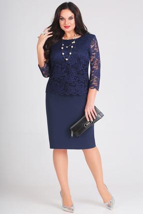 женское повседневные платье anastasia mak, синее