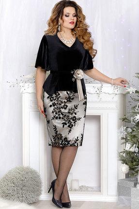 Комплект юбочный Mira Fashion 4545 чёрный
