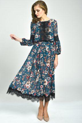 Купить Платье Svetlana Style 1161 синий, Вечерние платья, 1161, синий, ПЭ 100%, Мультисезон