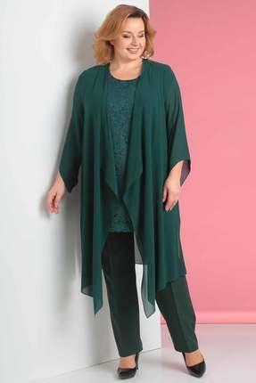 Комплект брючный Новелла Шарм 2893-4 зеленый