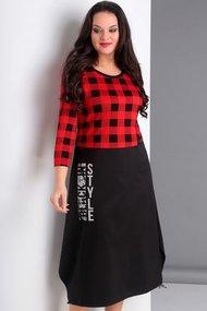 Платье Jurimex 1932-2 красный с черным