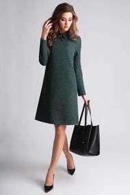 Платье Axxa 55037 темно-зеленый