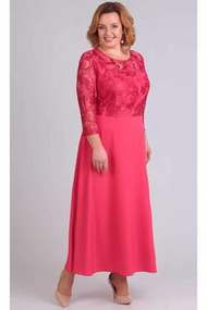 Платье TricoTex Style 109-17 красные тона
