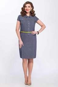 Платье Matini 31088 синий