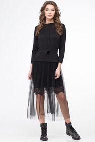Платье Линия-Л Б-1706 черный