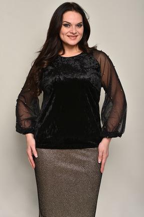 Купить со скидкой Блузка Solomeya Lux 549 черный