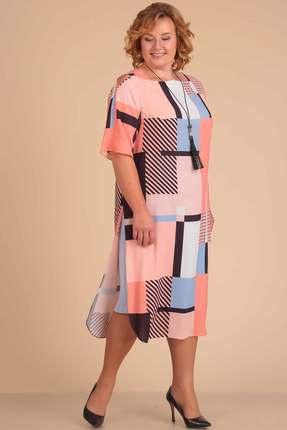Купить со скидкой Комплект юбочный Viola Style 2610 розовые тона