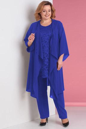 женский брючный костюм algranda, синий