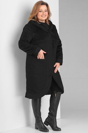Пальто Диамант 1389 черный