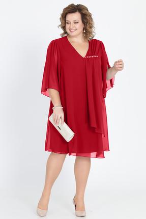 Купить Платье Pretty 805 бордовый, Вечерние платья, 805, бордовый, 20% вискоза 80% полиэстр, Мультисезон