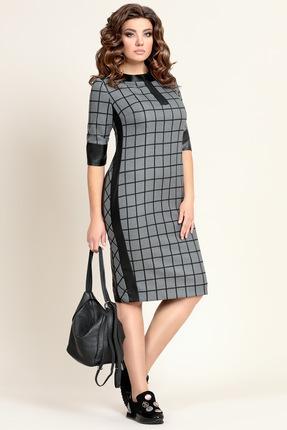 Купить Платье Мублиз 313 серый, Повседневные платья, 313, серый, пэ 49%, спандекс 6%, шерсть 45%, Мультисезон