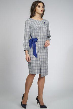 Купить Платье Alani 854 серый, Повседневные платья, 854, серый, ПЭ 70%+Вискоза 26%+Спандекс 4%, Мультисезон