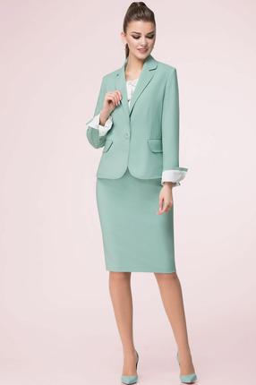Купить Комплект юбочный LeNata 31988 светло-зеленый, Юбочные, 31988, светло-зеленый, уточняется, Мультисезон