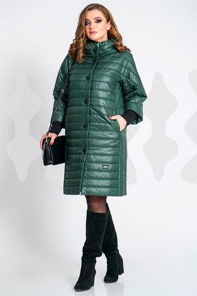 Пальто Olegran о-487 зеленый Olegran