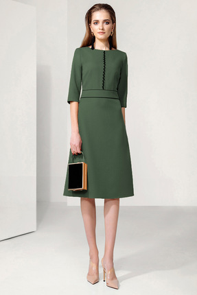 Фото - Платье Gizart 7113з зеленый зеленого цвета