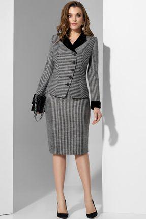 Комплект юбочный Lissana 3575 серый