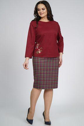 Комплект юбочный Alani 861 бордо