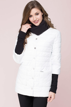 Куртка LeNata 11802 белый LeNata