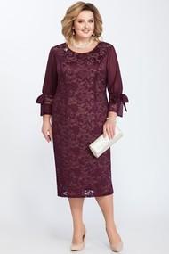 Платье Pretty 809 баклажановый