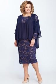 Платье Pretty 818 синий