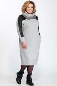 Платье Pretty 826 светло-серый