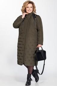 Пальто Pretty 828 хаки