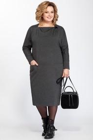 Платье Pretty 830 серый