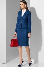 Комплект юбочный Lissana 3510 сине-бирюзовый