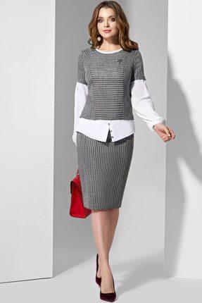 Комплект юбочный Lissana 3607 серый