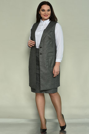Комплект юбочный Solomeya Lux 552 серый