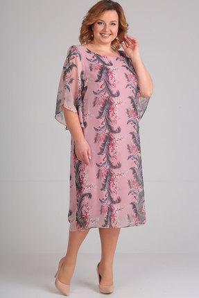 Купить Платье Elga 01-468.1 сиреневый, Вечерние платья, 01-468.1, сиреневый, полиэстер 100%, Мультисезон