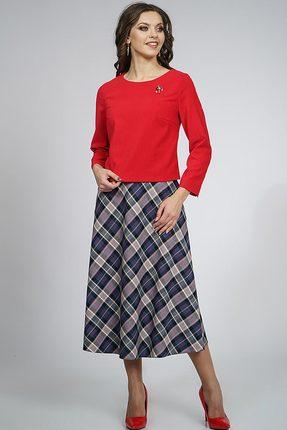 Комплект юбочный Alani 862 красный с синим