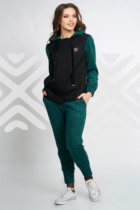 Купить со скидкой Спортивный костюм Olegran д-561 зеленый