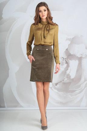 Комплект юбочный Golden Valley 6363 коричневые тона