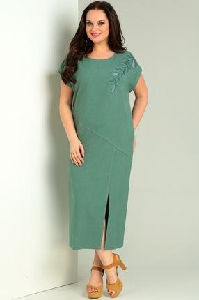 Купить Платье Jurimex 1949 зеленый, Повседневные платья, 1949, зеленый, полиэстер – 73%, вискоза – 22%, спандекс – 5%, Лето