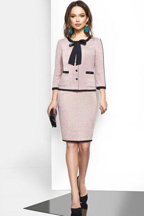 Комплект юбочный Lissana 3545 розовый