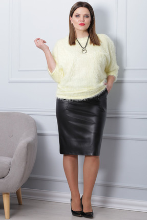 Купить Комплект юбочный Michel Chic 591 желтый, Юбочные, 591, желтый, Состав : полиэстер 90%, спандекс 10%, Мультисезон