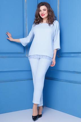 Комплект брючный Anastasia 224 светло голубой