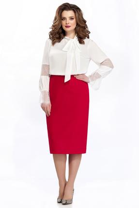 Комплект юбочный TEZA 135 красный