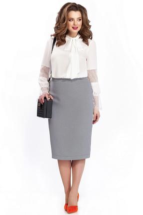 Комплект юбочный TEZA 135 серый