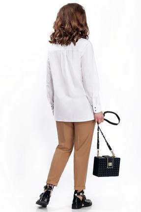 Фото 2 - Комплект брючный TEZA 150 белый с бежевым цвет белый с бежевым