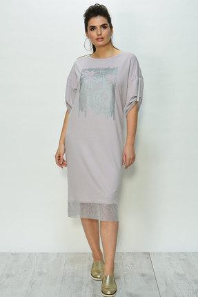 Купить Платье Faufilure с821 розовые тона, Повседневные платья, с821, розовые тона, Полиэстер 70%, вискоза 25%, спандекс 5%, Лето