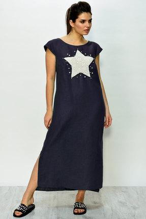 женское повседневные платье faufilure, синее