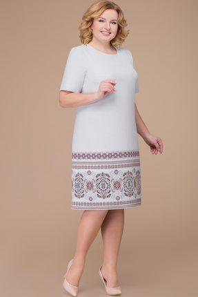 Платье Svetlana Style 1188 светло-серый, Повседневные платья, 1188, светло-серый, полиэстер 71%, вискоза 23%, спандекс 6%, Мультисезон  - купить со скидкой